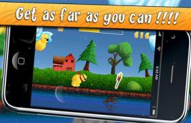 Flying Chicks: fa volare il tuo pulcino più lontano possibile